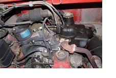 Fiat 126p el - dziwna nakrętka pod wyjściem spalin