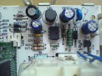 Pralka Whirlpool AWM 6081 - pali rezystor R20 - 100 ohm