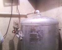 Hydrofor - Nowy zbiornik stara pompa - ucieka powietrze
