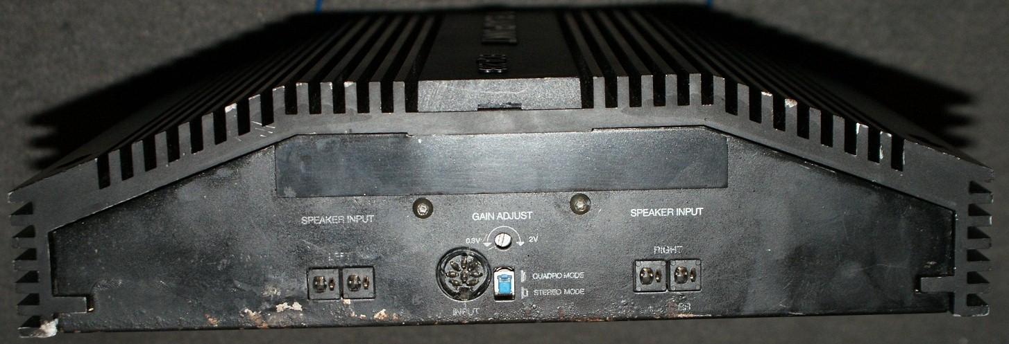 Blaupunkt BQA 208 jak podłączyć sygnał z radia
