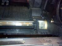 Xerox Docu Print P8e wżery przy termotranswerze