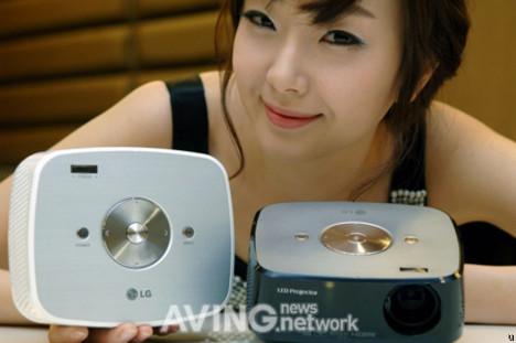 LG HX300G - projektor na lampie LED w kompaktowej obudowie