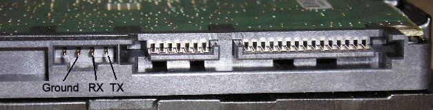 ST3500320AS SD15- problem z polaczeniem przez terminal