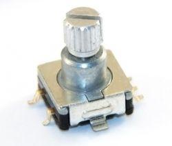 Eagle enkoder przełącznik obrotowy impulsator EC12 EC11 SMD biblioteka