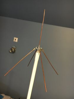 Antena bazowa PMR 70cm - 1/4 GP