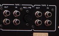 Podłączenie korektora graficznego Nikko EQ500 do wzmacniacza Nikko NA 590II