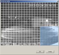 BCS-DVR0801MEA - Detekcja ruchu