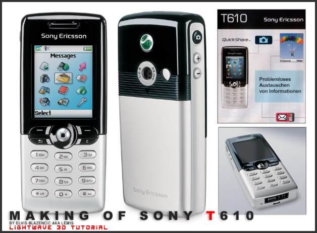 Instrukcja Sony Ericsson T610 EN