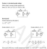 Metoda superpozycji - błędne wyniki przy rezystancji zastępczej