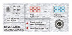Symulator akumulatora jako obciążenie ładowarki