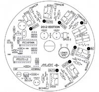 Zdalne sterowanie oświetleniem w domu na PT2262/PT2272, pilot 433MHz.