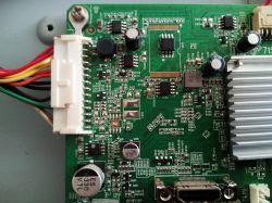 SHARP LC46LD264E - tv się nie uruchamia, świeci niebieska dioda