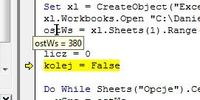 VBA - Jak przypisać kilka czynności do jednej pozycji z ComboBOX w Excel VBA