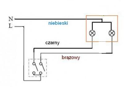 jak podłączyć włącznik światła