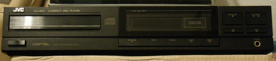 JVC XL-V250 CD-Player - Nie startuje, wylane kondensatory?