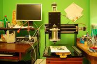 Kreatura CNC - frezarka Openhardware