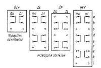 Przełączniki zakresów częstotliwości - oznaczenie na schemacie
