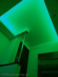 Montaż taśmy LED RGB 300 LED.