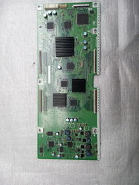 Sharp LC-52X20E - nie włącza się, miga zielona i czerwona dioda