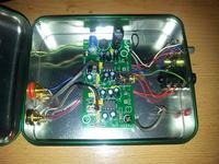 Wzmacniacz słuchawkowy TDA7233 - brak kontroli dźwięku, szum i buczenie