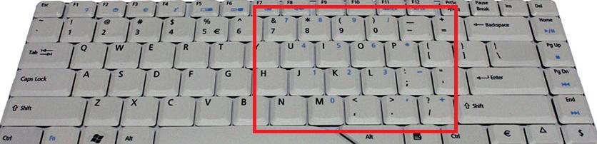 Laptop HP dv9700 - Klawiatura nie wy�wietla poprawnie znak�w