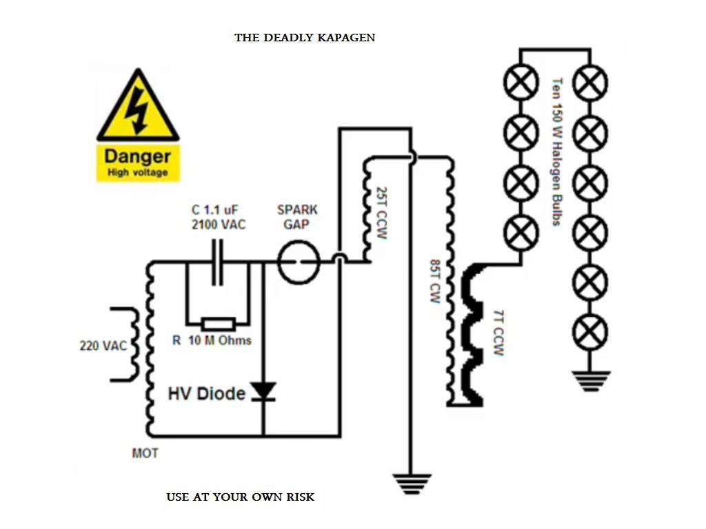 Как сделать генератор свободной энергии своими руками схема