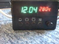 Preheater z piekarnika - zbyt duża rozbieżności temperatury