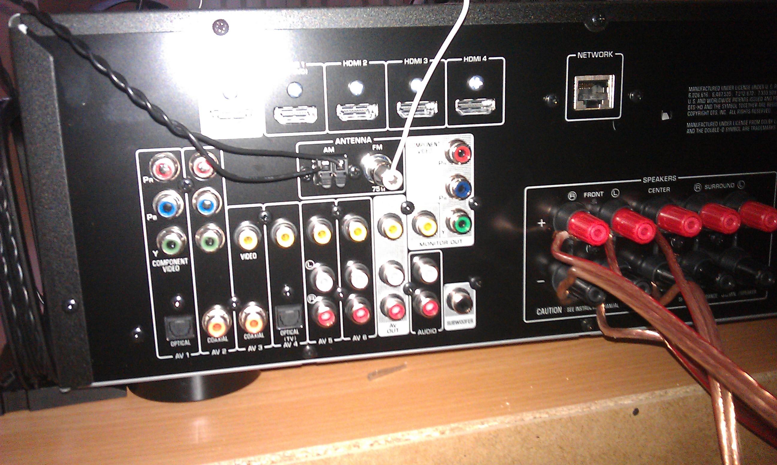 Problem z doborem odpowiedniego okablowania do amplitunera i TV