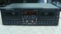 Instrukcja Tascam 302 Double Auto Reverse Cassette Deck EN