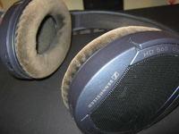 Wymiana gąbki w słuchawkach Sennheiser HD565 Ovation