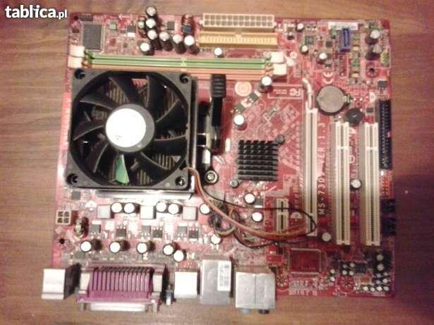 [Sprzedam] P�yta g��wna MSI K9N6SGM-V, 1.5GB RAM, Amd athlon x2 4450B 2x2.3Ghz
