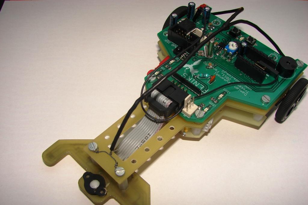 Robot typu LineFollower - Feniks2