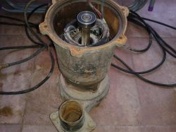 Pompa do wody przestała pompować