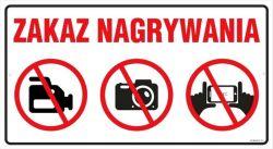 Uwaga! Nagrywanie w miejscach publicznych (PKP) surowo zabronione!