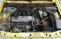 Ford Courier 1.6 D - utrudniony rozruch silnika.