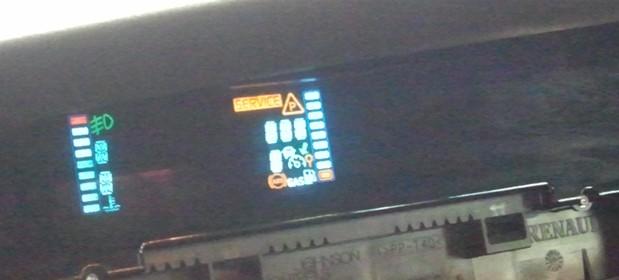 z�o�liwy wy�wietlacz Renault Scenic z kolorow� nawigacj�