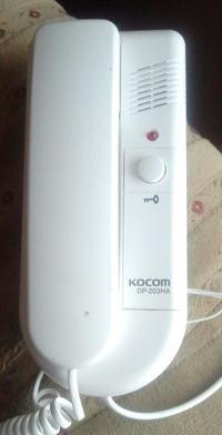 KOCOM DP-203HA - pod��czenie drugiego dzwonka do domofonu
