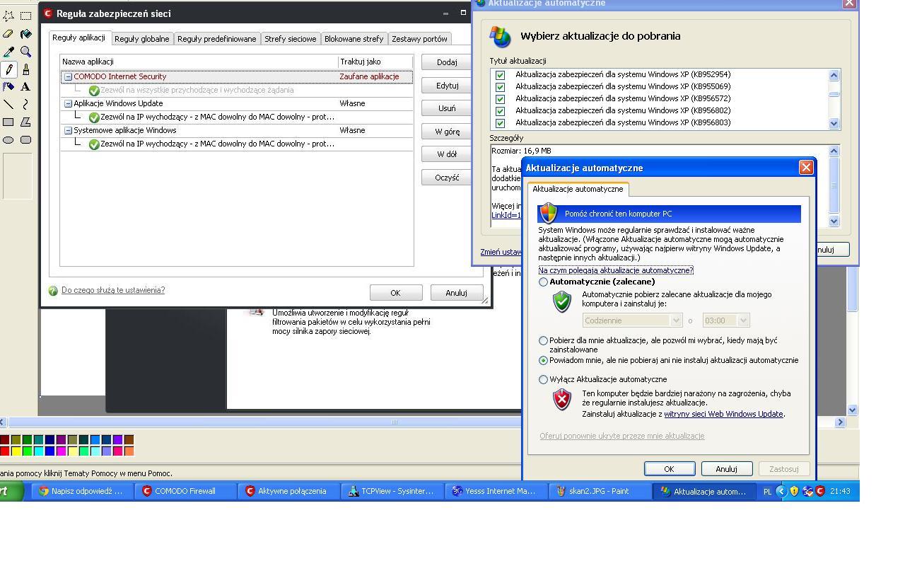 Jak zablokowa� protok�, mam Comodo Firewall, czy mam wirusa?