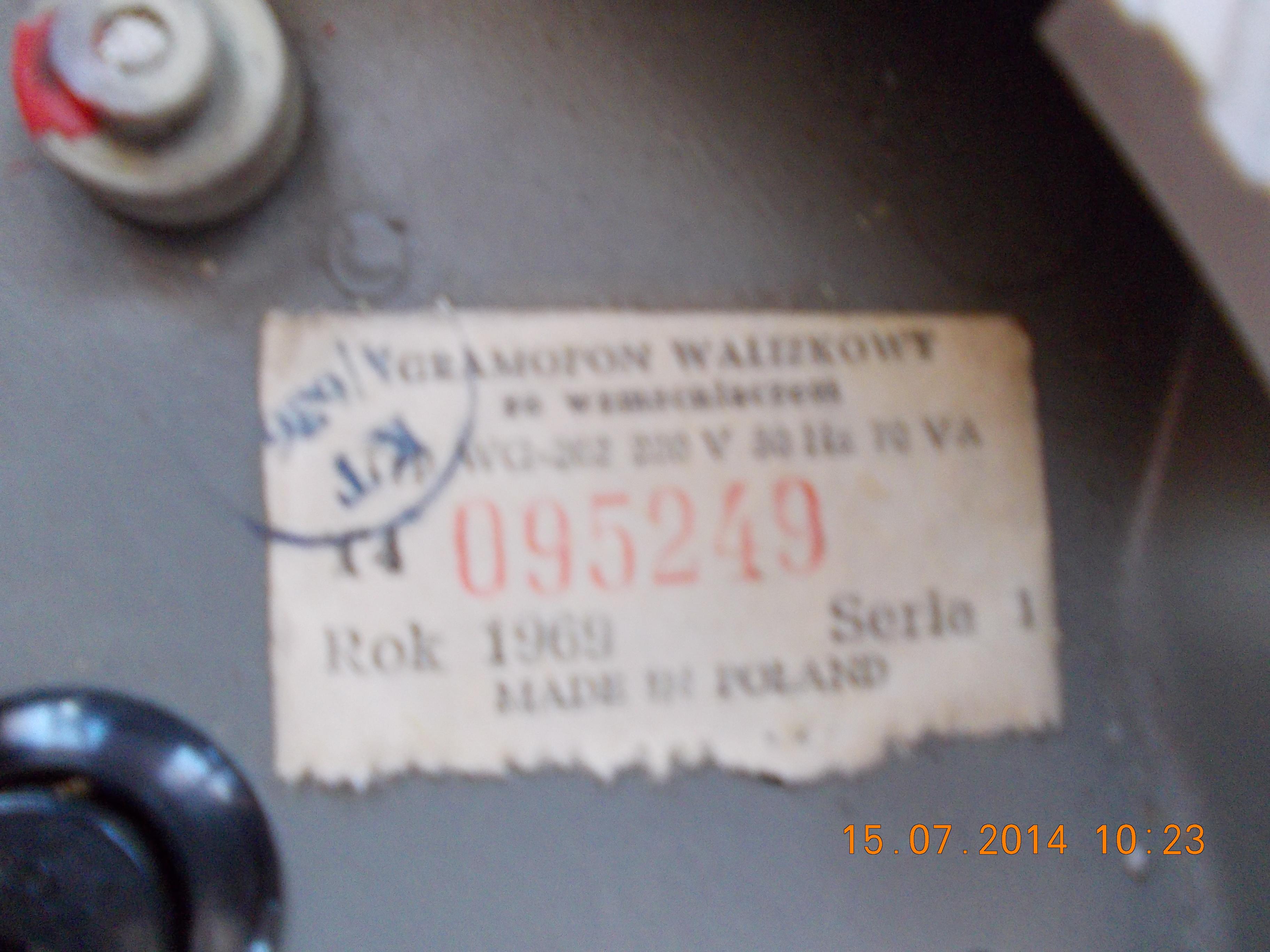 [Sprzedam] Gramofon Bambino 2 i Fonika WG 550