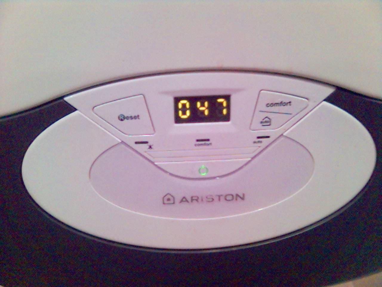 Kocio� Ariston (?) i Euroster - Termostat nie kontroluje pieca