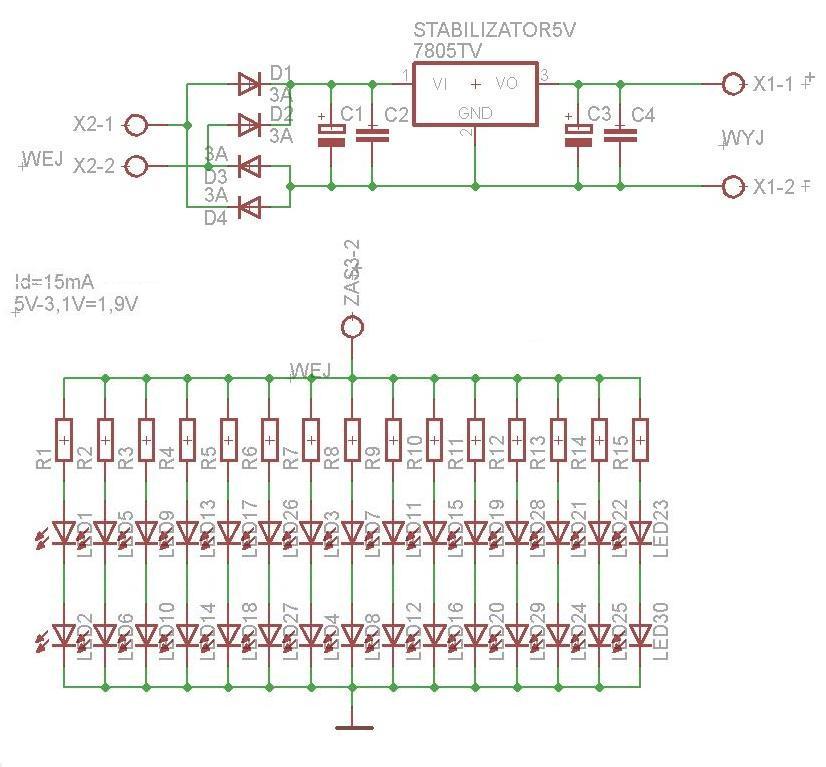 Sterownik o�wietlenia LED - pro�ba o sprawdzenie uk�adu