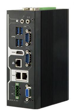 ARES-5310 - wzmocniony komputer typu embedded na DIN z Apollo Lake