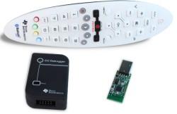 Zestaw rozwojowy Texas Instruments z pilotem na Bluetooth low energy
