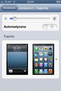 iPhone 4 - Pod�wietlenie dzia�a tylko na ma�ych warto�ciach