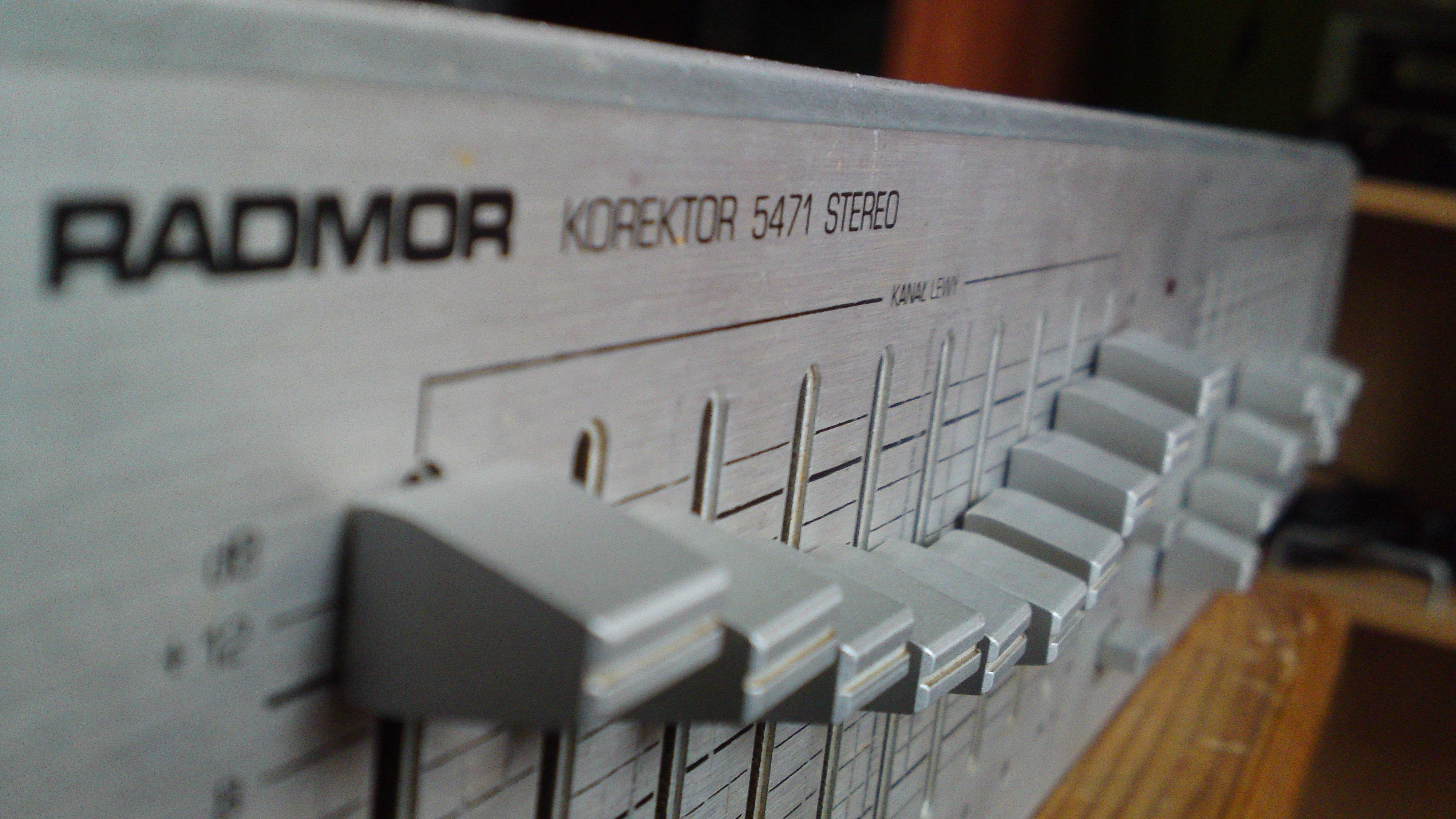 [Sprzedam] Unitra Radmor - Korektor graficzny 5471 stereo