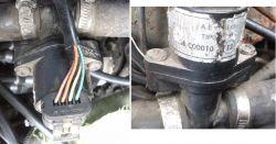 Audi 80 - Odcina gaz przy naciśnięciu pedału przyśpieszenia