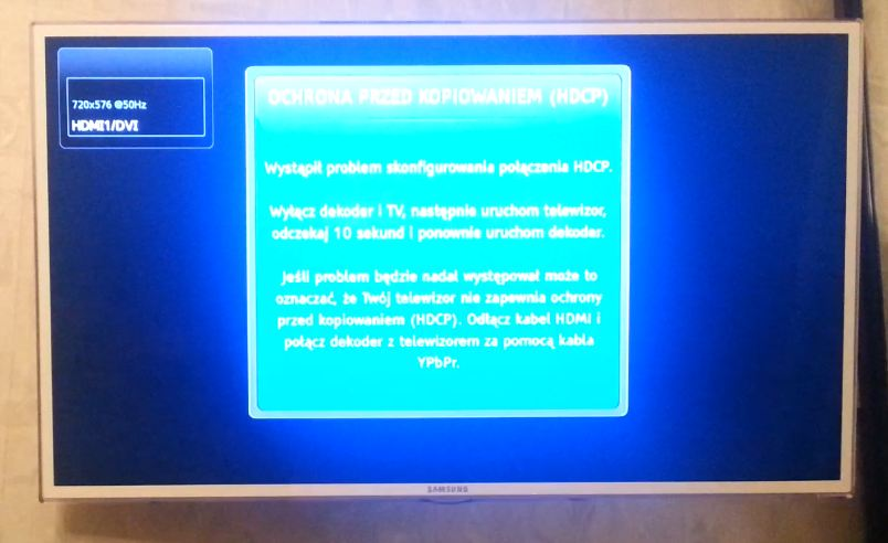 Konflikt sygna��w HDMI? Obraz z PC na TV
