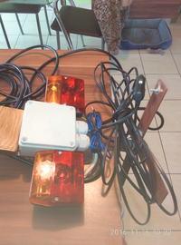 Tester oświetlenia przyczepy