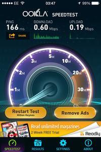 Technicolor TG582N - Internet 16mbps i ograniczony transfer