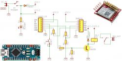 SMS controlled relay on SIM800L and Arduino Nano module